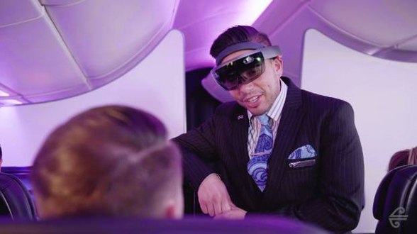 HoloLens bei Air New Zealand