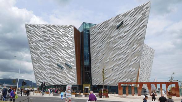 romantische Flecken in Belfast